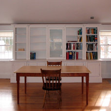 Traditional Home Office by Platt Builders