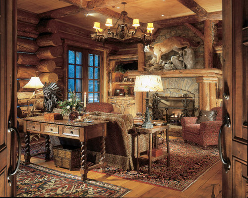Best Cabin Home Office Design Ideas  Remodel Pictures  Houzz