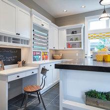 Contemporain Bureau à domicile by Alan Mascord Design Associates Inc