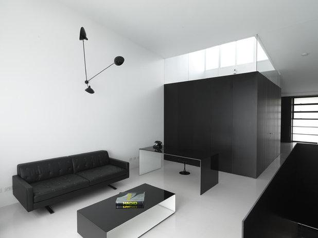 klare kontraste: schwarz-weiß-denken ist ausdrücklich erlaubt! - Esszimmer Design Schwarz Weis Kontraste