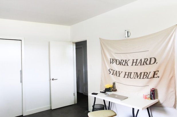 Fresh Midcentury Home Office Studio