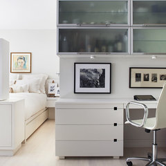 contemporary home office by Prestige Custom Building & Construction, Inc.