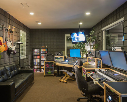 Recording studio home design ideas pictures remodel and decor - Home recording studio design ideas ...