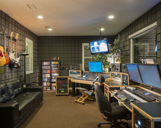 home recording studio | houzz