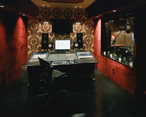 Wondrous Recording Studio Ideas Pictures Remodel And Decor Inspirational Interior Design Netriciaus