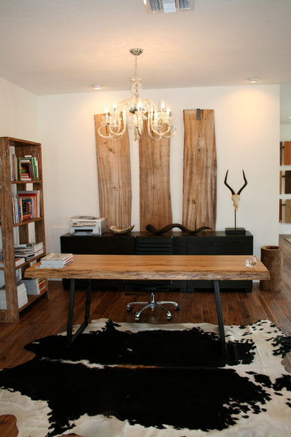 Modern Home Office by Molly Cones