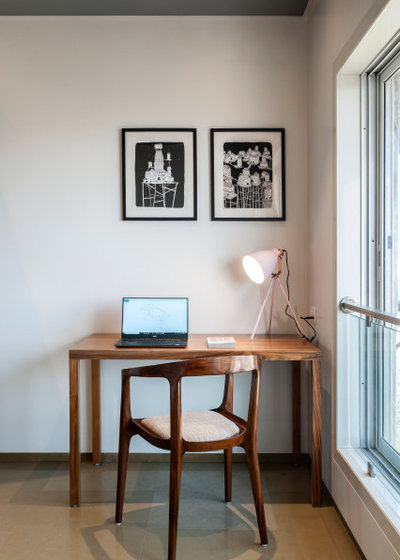 Contemporary Home Office by SML Architects