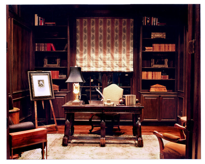 Traditional Home Office by Cravotta Interiors