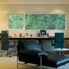 Modern Home Office by David Churchill - Architectural  Photographer