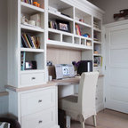 Wall morris design new england style house ireland for New england style desk