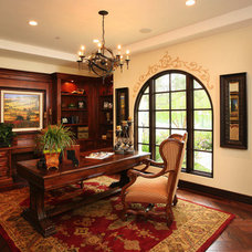 Traditional Home Office by Details a Design Firm