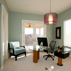Contemporary Home Office by Eddy Homes