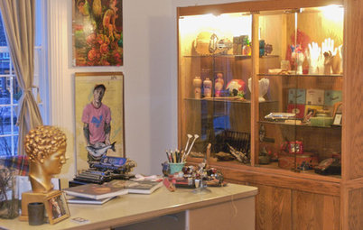 My Houzz: Vancouver Artist's Curious, Collected Home