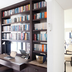 contemporary home office by Nathan Gornall Interior Design
