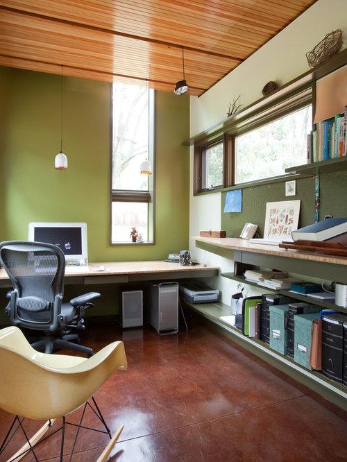 25 best modern home office ideas photos houzz. Black Bedroom Furniture Sets. Home Design Ideas