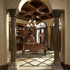 Mediterranean Home Office by John Termeer