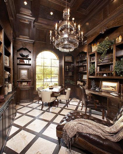 Mediterranean Home Office by John Termeer