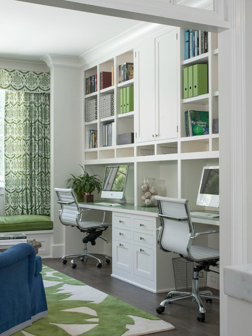 office room ideas for home. midsized transitional builtin desk dark wood floor study room idea in san office ideas for home m