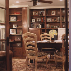 Traditional Home Office by Kasper Custom Remodeling, LLC