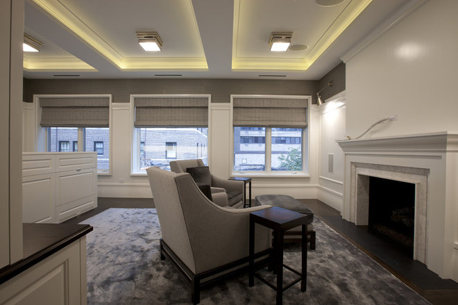 Contemporary Home Office by Michael Abrams Limited
