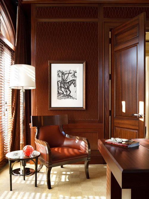 Wood Paneled Library: Library Paneling Ideas, Pictures, Remodel And Decor