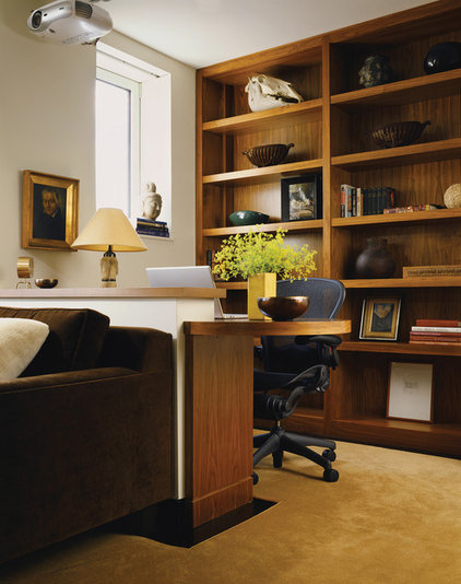 Contemporary Home Office by Paul Rice Architecture