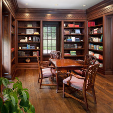 Traditional Home Office by RWA Architects