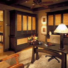 Tropical Home Office by Saint Dizier Design