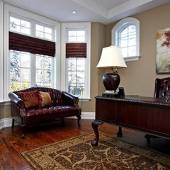 traditional home office by Somers & Company Interiors,  Gillian Somers