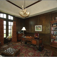 Traditional Home Office by Steve Trumbly  Designs