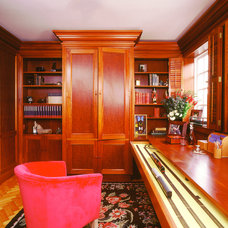 Traditional Home Office by Tim Wood Limited