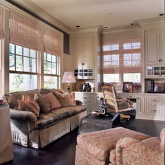 traditional home office by Tina Barclay