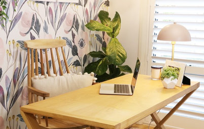 A Budget-Friendly Study Makeover for a Big Family
