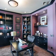 contemporary home office by Visbeen Associates, Inc.