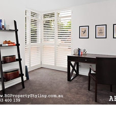 Modern Home Office by BG Property Styling
