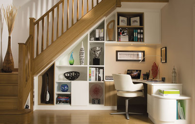 30 Ways to Make More of the Space Beneath Your Stairs