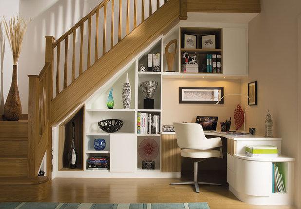 Transitional Home Office by Neville Johnson Ltd