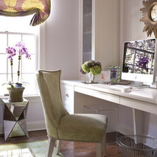 Transitional Home Office by MuseInteriors