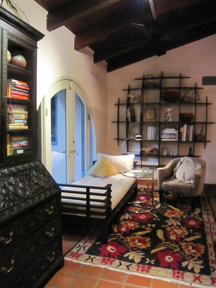 Eclectic Home Office by Terri Weinstein Design, Inc., ASID, IES, MFA