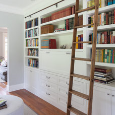 Traditional Home Office by Synthesis Design Inc.