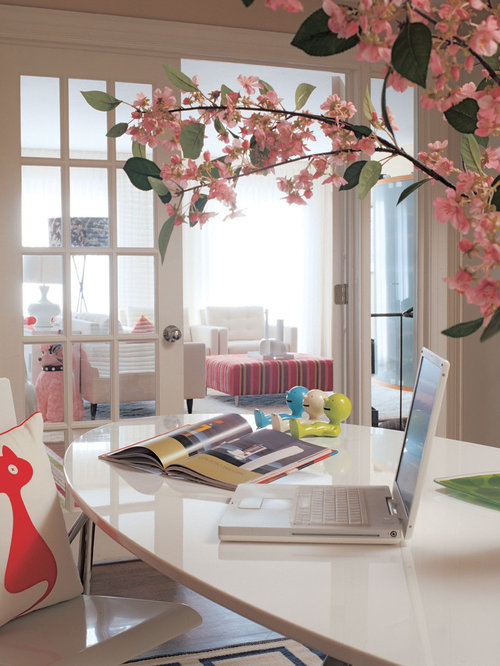 Peachy Feminine Home Office Ideas Pictures Remodel And Decor Largest Home Design Picture Inspirations Pitcheantrous