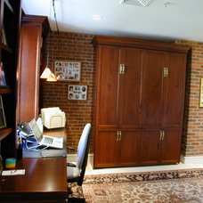 Traditional Home Office by Dedham Cabinet Shop, Inc.