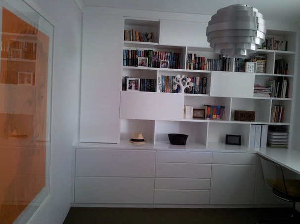 Modern Home Office by Sorted