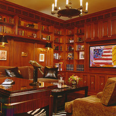 Traditional Home Office by Susan Cohen Associates, Inc.