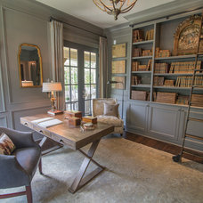 Traditional Home Office by Schilling & Company