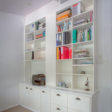 Contemporary Home Office by Clever Closet Company