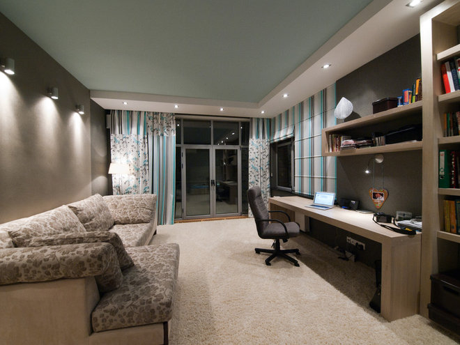 """Modern Home Office by Architectural Studio """"Didencul Project"""""""