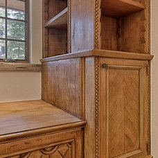 Traditional Home Office by Bratt Brothers Construction, Inc.