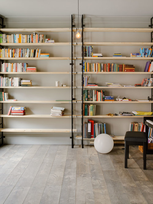 Reclaimed Scaffolding Board Shelving Home Design Ideas