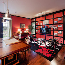 Traditional Home Office by Madi Mali Homes, LLC
